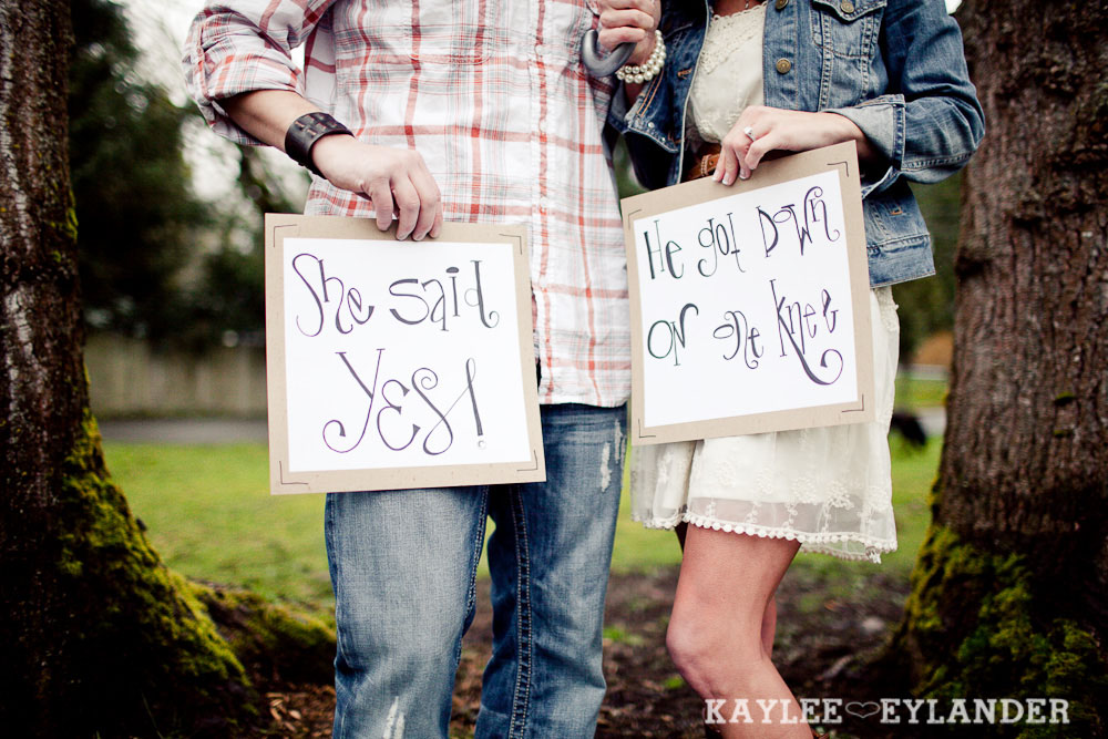 Lake Stevens Modern Engagement 14 Engagement Sessions With Props | Seattle Wedding Photographer
