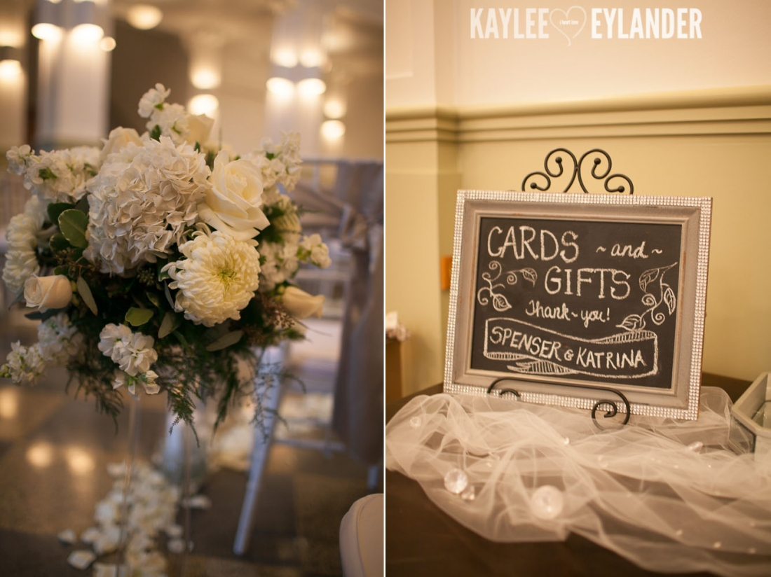 Monte Cristo Ballroom Glam Wedding 9 1100x824 Monte Cristo Ballroom Wedding | DIY Glam Wedding