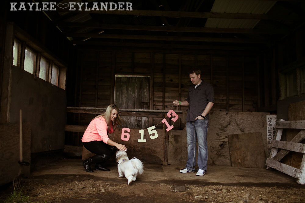 Rustic Outdoor Engagement session kaylee eylander 1 Engagement Sessions With Props | Seattle Wedding Photographer