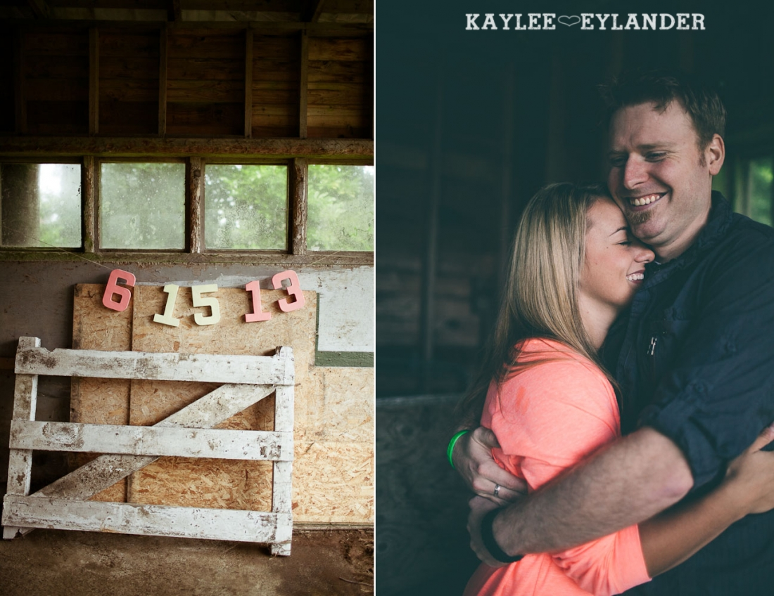 Rustic Outdoor Engagement session kaylee eylander 4 1100x848 Engagement Sessions With Props | Seattle Wedding Photographer