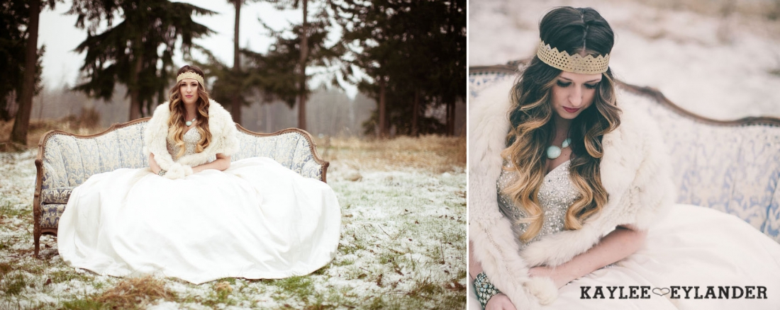Winter wedding kaylee eylander 22 1100x438 Winter Wonderland Wedding | Stylized Wedding Shoot