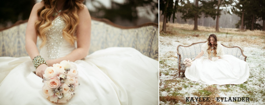 Winter wedding kaylee eylander 34 1100x438 Winter Wonderland Wedding | Stylized Wedding Shoot