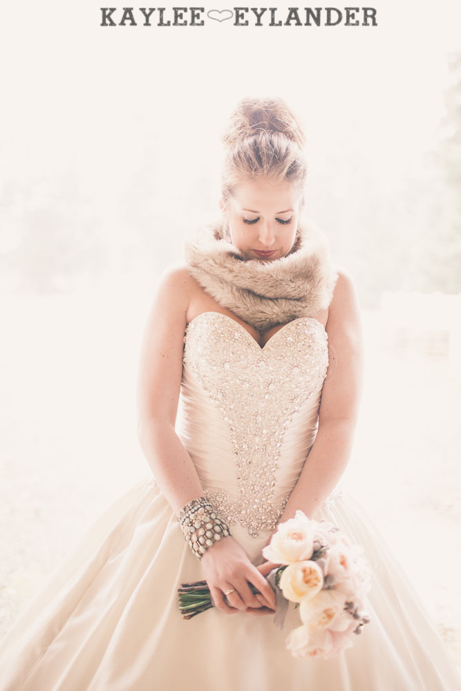 Winter wedding kaylee eylander 48 Winter Wonderland Wedding | Stylized Wedding Shoot