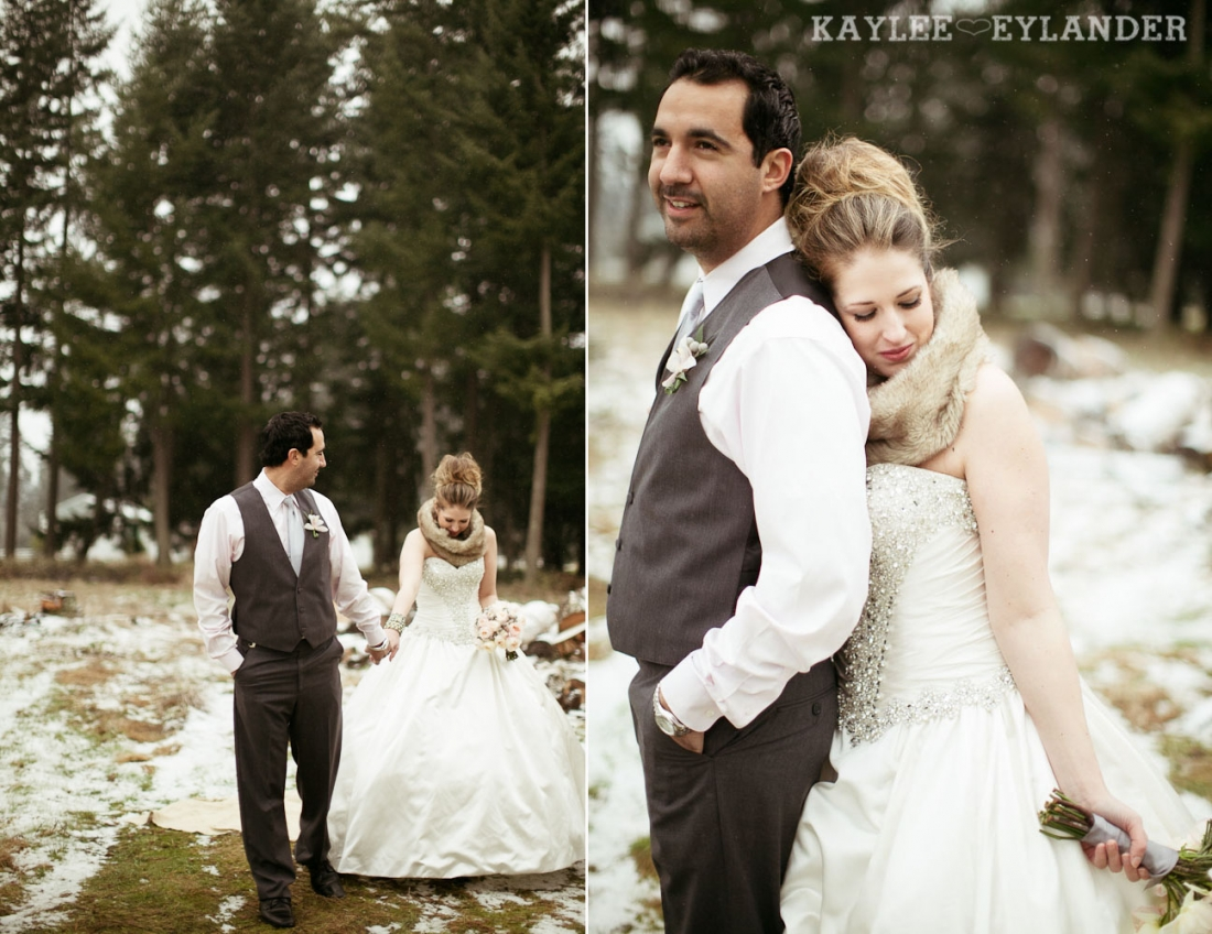 Winter wedding kaylee eylander 55 1100x848 Winter Wonderland Wedding | Stylized Wedding Shoot