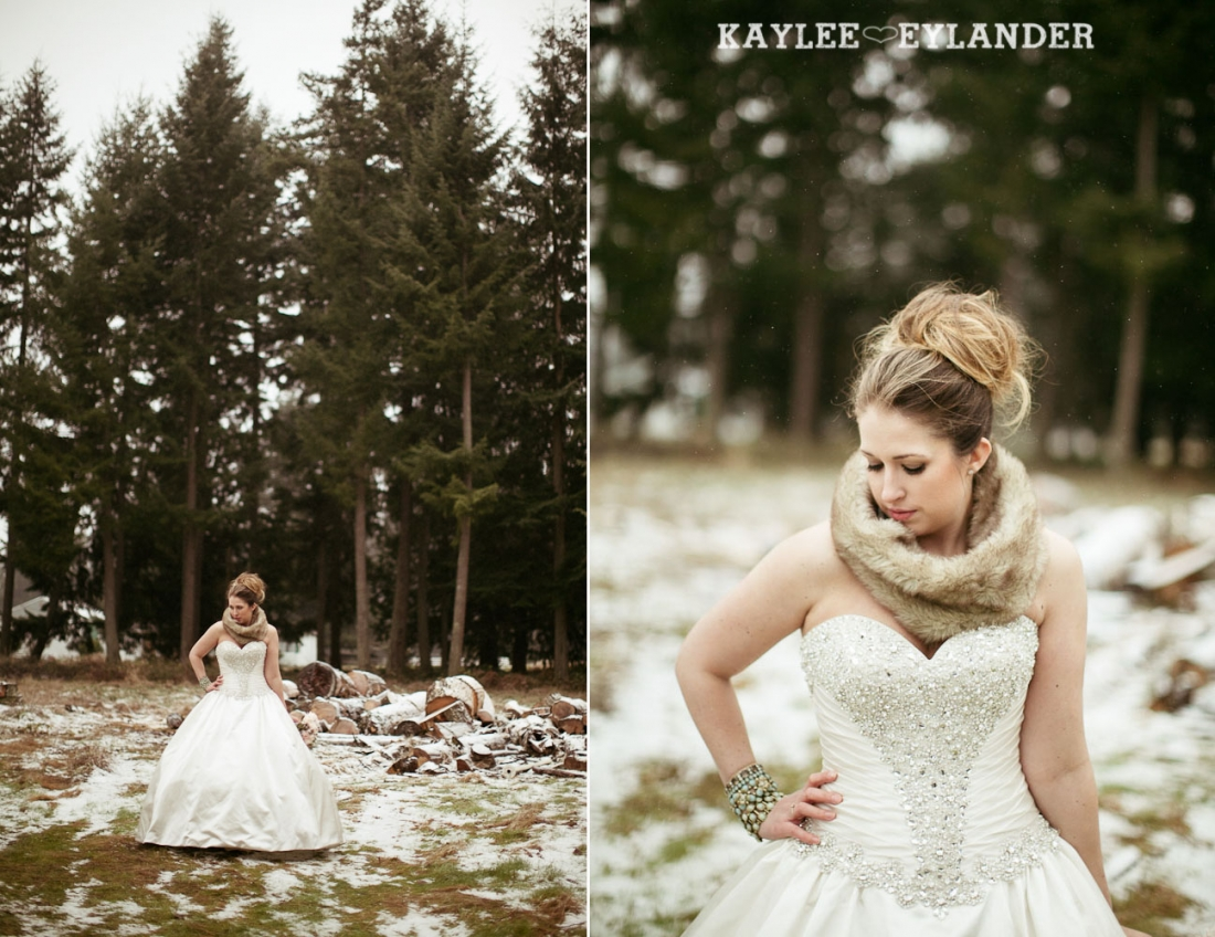 Winter wedding kaylee eylander 56 1100x848 Winter Wonderland Wedding | Stylized Wedding Shoot