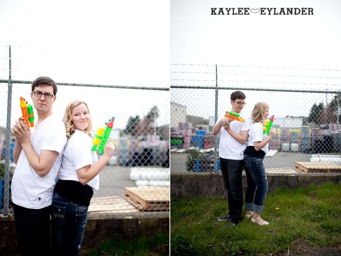 paint engagement session 31 1100x825 Engagement Sessions With Props | Seattle Wedding Photographer
