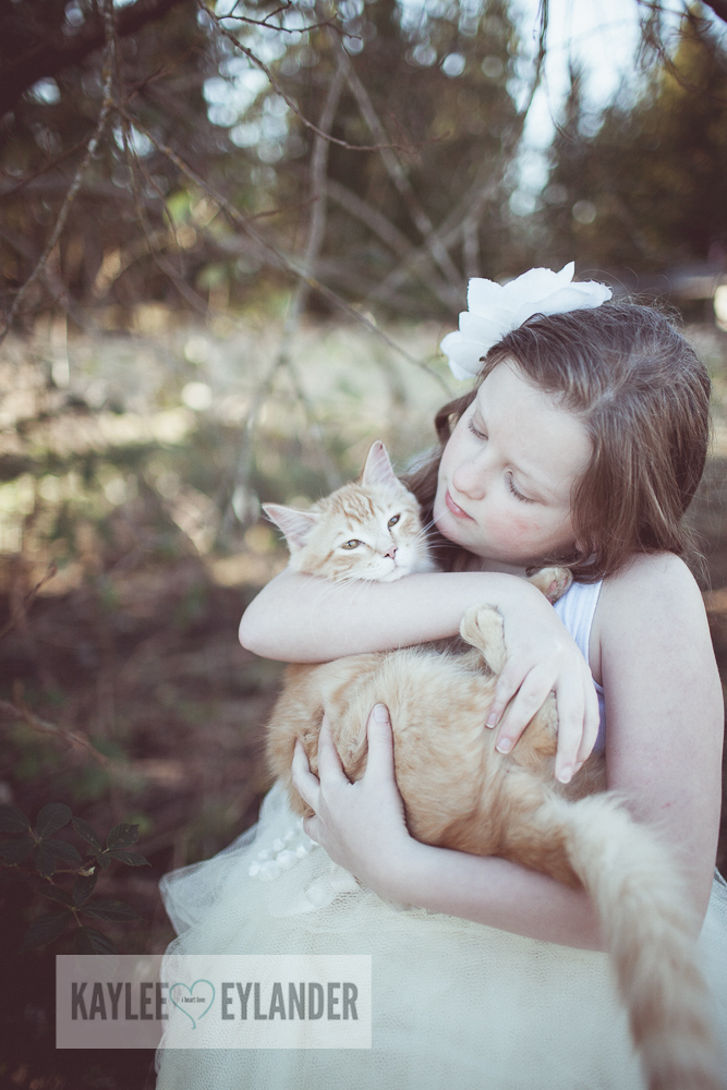 Lake Stevens Childrens Photographer Kaylee Eylander Photography 8 A girl and her cat | Kaylee Eylander Photography | Lake Stevens Childrens Photographers