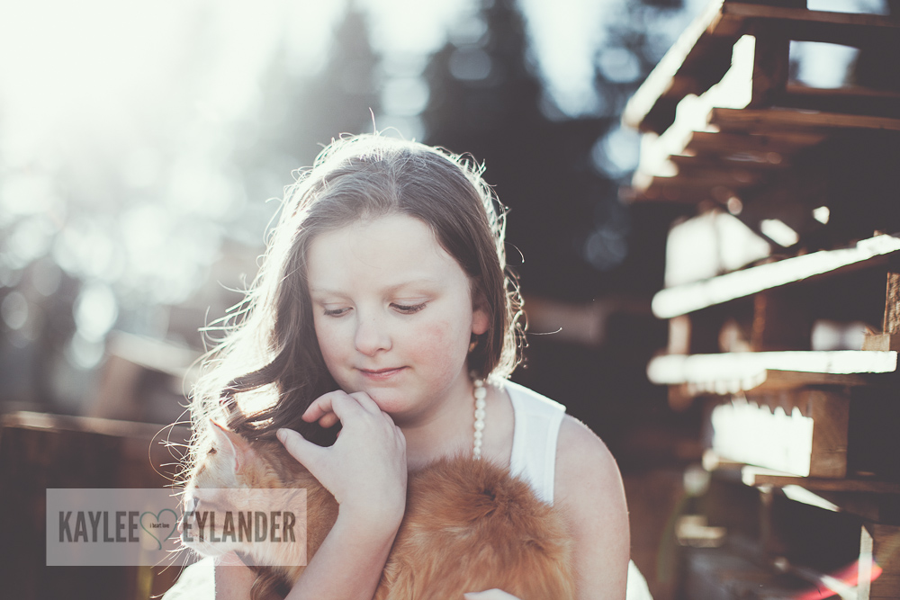 Lake Stevens Childrens Photographer Kaylee Eylander Photography 9 A girl and her cat | Kaylee Eylander Photography | Lake Stevens Childrens Photographers