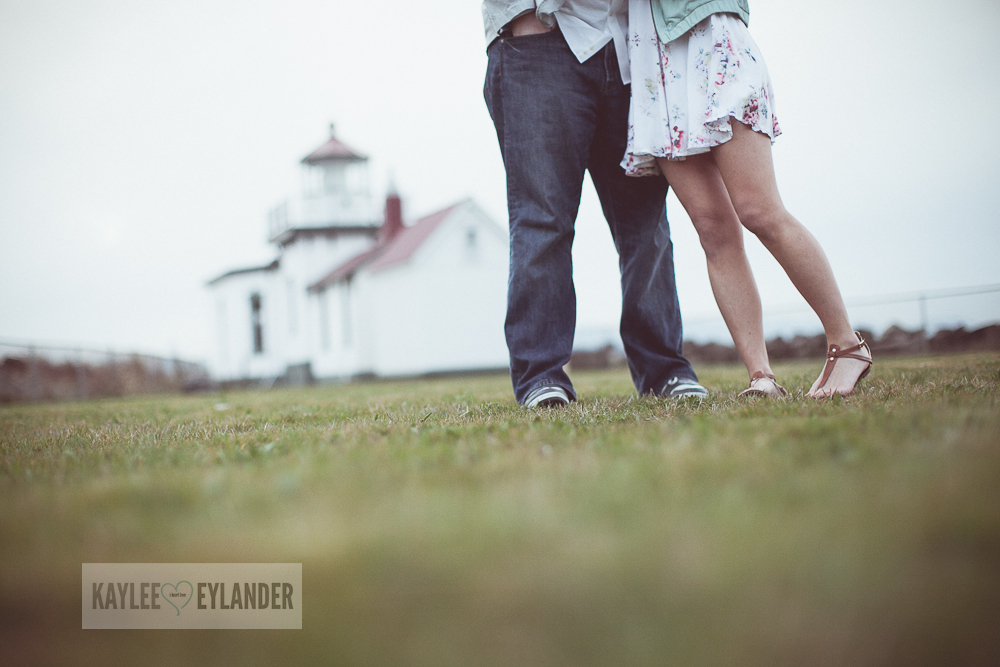 Maura Kyle 18 Discovery Park Engagement Session | Seattle Engagement Session