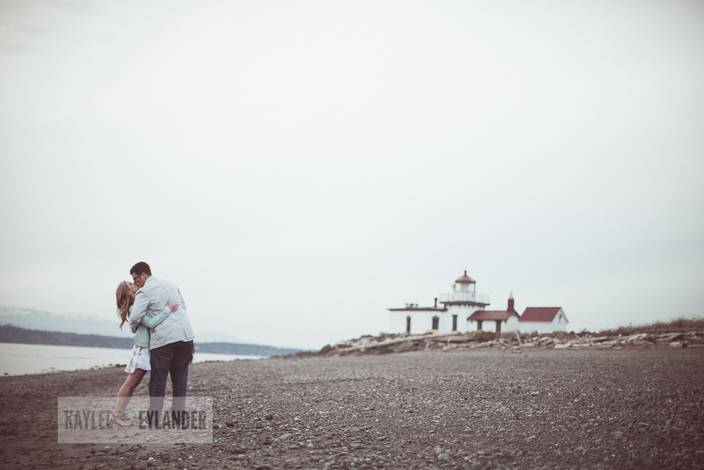 Maura Kyle 38 Discovery Park Engagement Session | Seattle Engagement Session