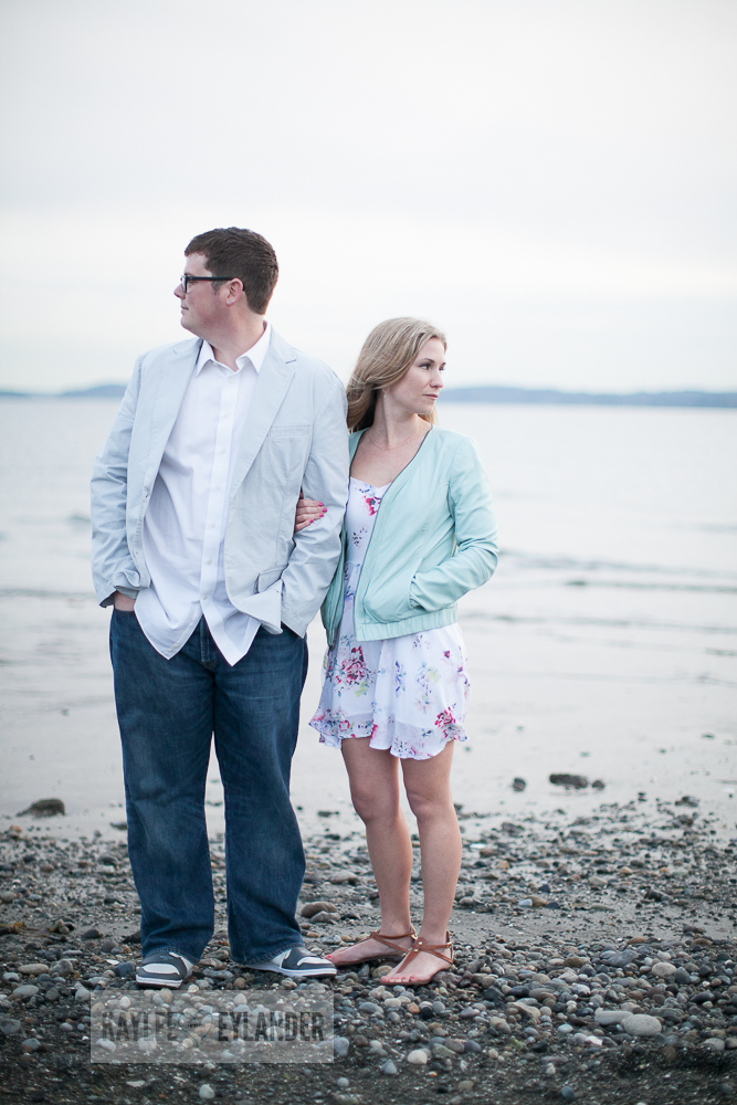 Maura Kyle 43 Discovery Park Engagement Session | Seattle Engagement Session