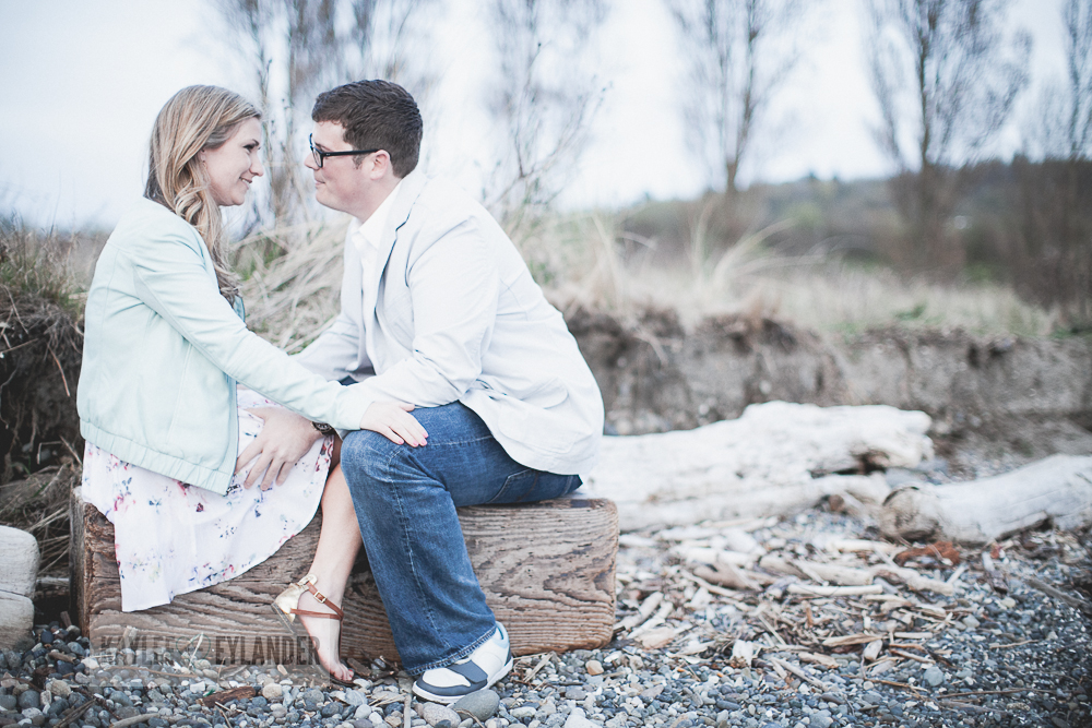 Maura Kyle 45 Discovery Park Engagement Session | Seattle Engagement Session
