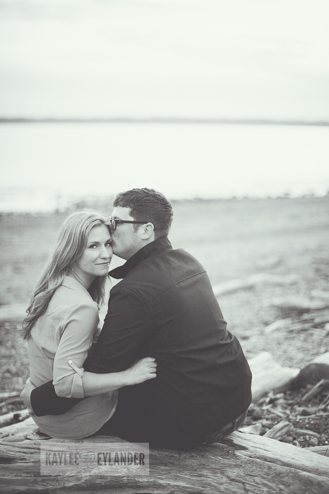 Maura Kyle 59 Discovery Park Engagement Session | Seattle Engagement Session