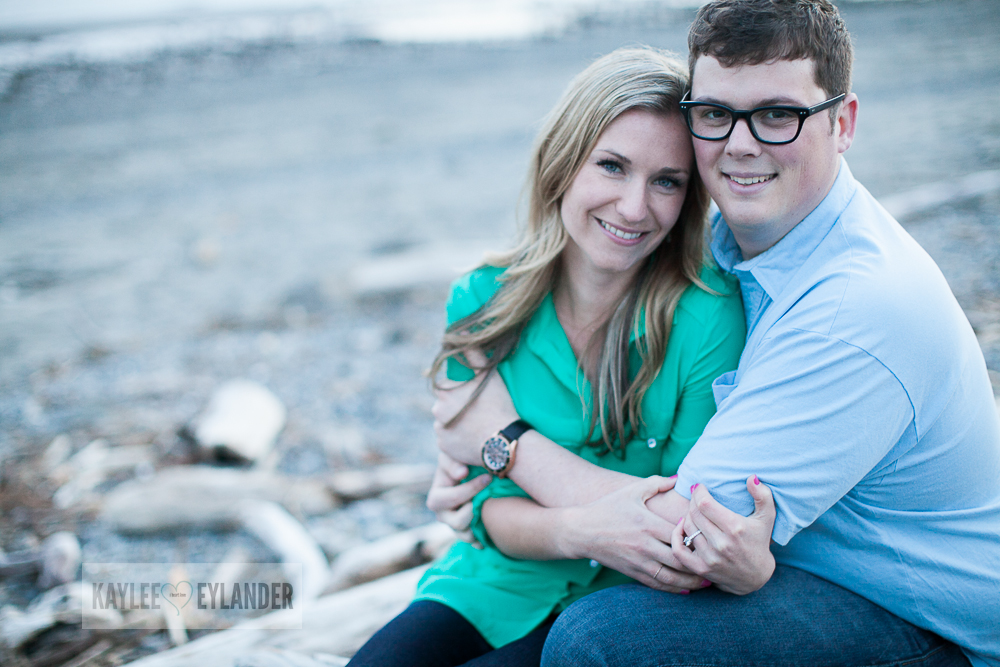 Maura Kyle 63 Discovery Park Engagement Session | Seattle Engagement Session