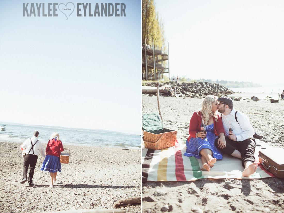 MG 8363 1100x824 Tri   Cities Wedding Photographer | Vintage Beach Engagement Session