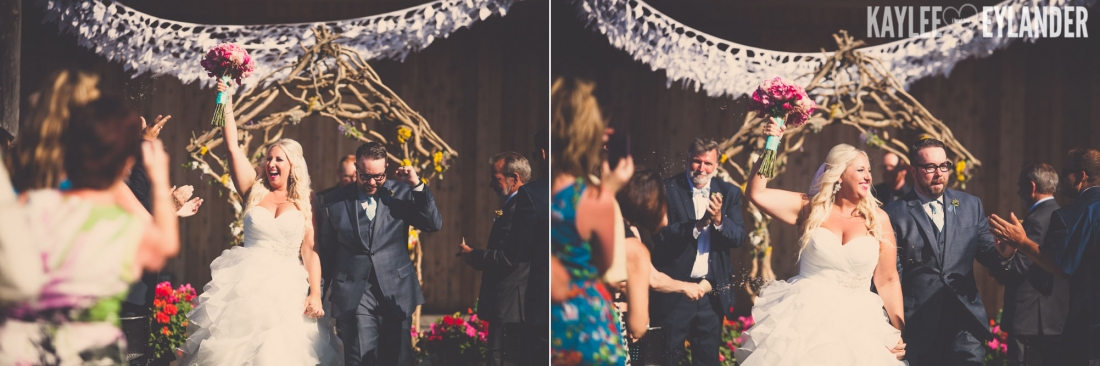 Lopez Island Community Center Wedding 5 1100x366 Lopez Island Community Center Wedding | Turquoise & Pink DIY...my fave!