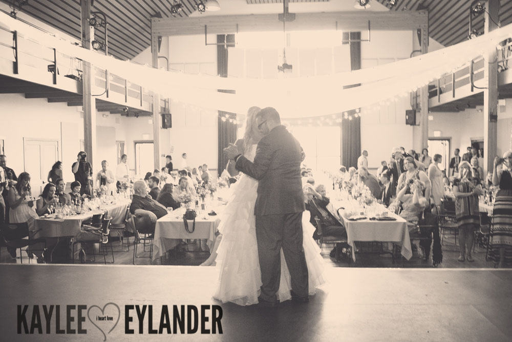 Lopez Island Community Center Wedding Reception 11 Lopez Island Community Center Wedding | Turquoise & Pink DIY...my fave!