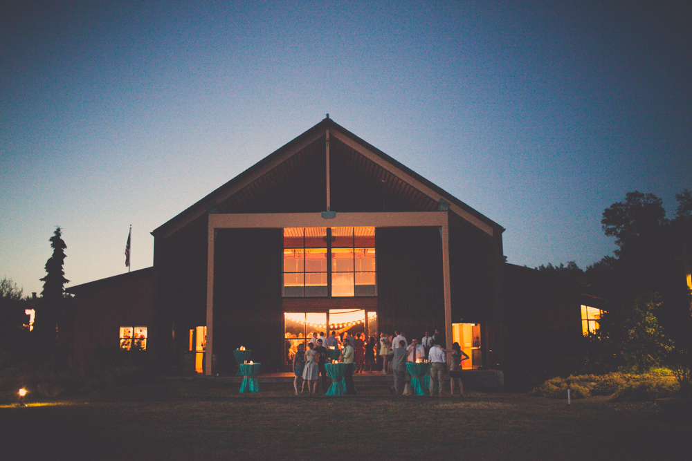 Lopez Island Community Center Wedding Reception 17 Lopez Island Community Center Wedding | Turquoise & Pink DIY...my fave!