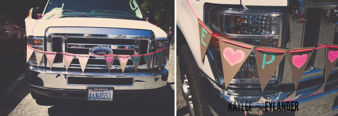 Lopez Island Wedding Photographer 1 2 1100x378 Lopez Island Community Center Wedding | Turquoise & Pink DIY...my fave!