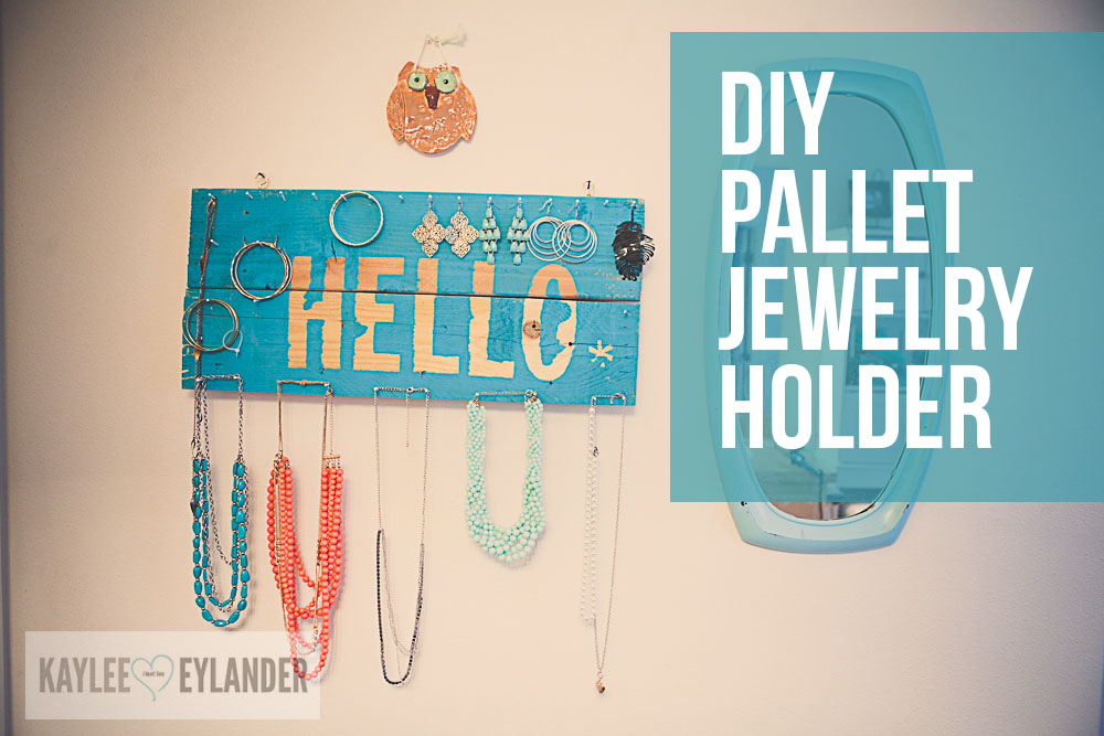 DIY Pallet Jewelry Holder 1 4 Diy Pallet Jewelry Holder | DIY Reclaimed wood
