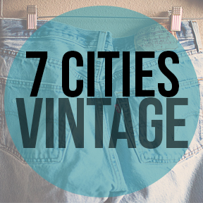 7 Cities vintage logo 7 Cities Vintage