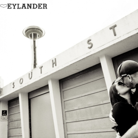 Seattle Space Needle Engagement Photographer 3 470x470 Golden Gardens Engagement Session