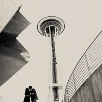 Seattle Space Needle Engagement Photographer 9 200x200 Golden Gardens Engagement Session
